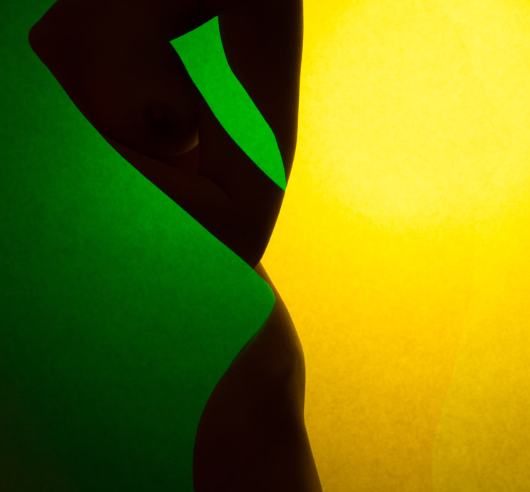 Lemon And Lime - multiple exposure photo by David Barnes
